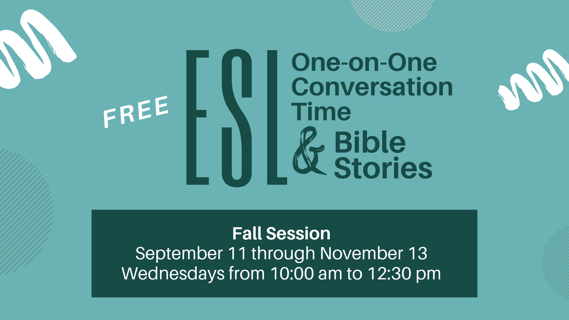 ESL Conversation Time - Good Shepherd Lutheran Church